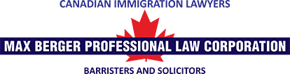 Canadian Immigration Lawyers - Max Berger Professional Law Corporation